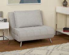 Mid Century Modern Chair Bed Futon Convertible Folding Sleeper Lounger Loveseat