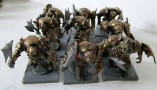GW blindado Orks Plus chamán Totalmente Pintado