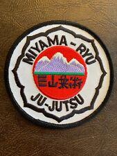 Miyama-Ryu Ju-Jutsu Patch