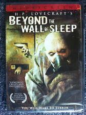 BEYOND THE WALL OF SLEEP - DVD - REGION 1 - NEW - H.P.Lovecraft