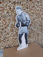 "Mohammed Ali 12"" Vintage Cardboard Standee in Boxing Pose unused Excellent"
