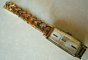 Fabulous Vintage 9ct Gold Watch by Rotary on Lovely 9ct Gold Bracelet. No Return