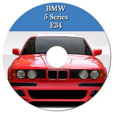 BMW 5 SERIES E34 525i 530i 535i 540i 1989-1995 WORKSHOP MANUAL ON CD OR DOWNLOAD