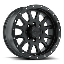 "20"" Pro Comp Offroad Series 44 Syndrome Satin Black Wheels Rims"