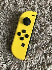 Genuine Nintendo Switch Left Yellow FORTNITE Joy Con ONLY! Tested! No Drift!