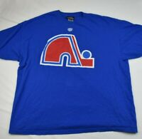 Québec Nordiques Short Sleeve Shirt NHL Old Time Hockey - XXL Pre-owned D1