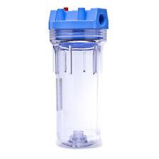 Pentek 150071 Standard Clear 10 x 2.5 Water Filter Housing 3/4 NPT
