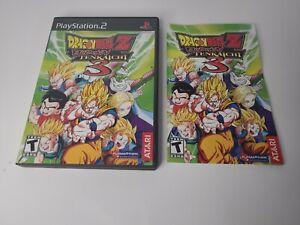 Dragon Ball Z: Budokai Tenkaichi 3 (PlayStation 2/PS2) *CASE and MANUAL* NO GAME