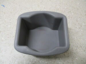 99 to 03 Ford, Lincoln Center Console Rear Cupholder Plastic Insert Cup Holder