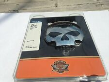 Harley willie g skull gas tank fuel cap dyna sportster softail heritage fatboy