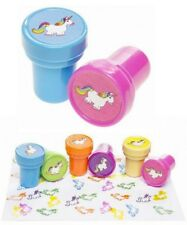 LOT 6 TAMPONS LICORNE 3 X 2.5 CM SCOLAIRE PAPETERIE