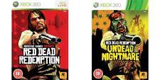 Red DEAD REDEMPTION & non morti Nightmare XBOX 360 PAL