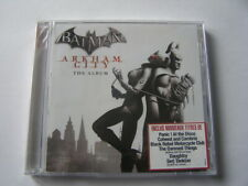 cd batman arkham city the album neuf sous blister