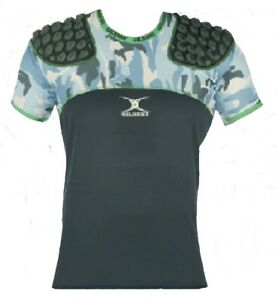 Gilbert Alpha Quest Rugby Body Armour Mens Medium Shoulder Pads Protection