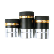 "1.25"" Wide Angle 62-Deg Eyepiece Lens 4mm/10mm/23mm For Astronomical Telescope"