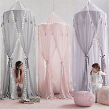 Kids Girls Bed Canopy Mosquito Net Bedcover Curtain Bedroom Netting Dome Tent