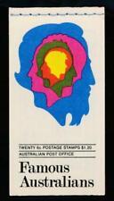 Australia Scott 454a-57a $1.20 Fam.Australians Booklet