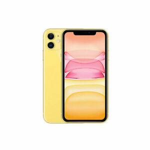 Apple iPhone 11 64GB Fully Unlocked (GSM+CDMA) AT&T T-Mobile Verizon Yellow