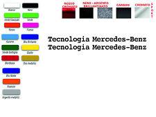 ADESIVI SCRITTA TECNOLOGIA MERCEDES BENZ PER SMART MERCEDES  (COPPIA)