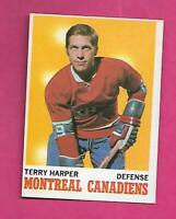 1970-71 OPC # 53 CANADIENS TERRY HARPER EX+ CARD (INV# C8929)