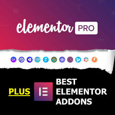 Elementor PRO + Huge Collection of Premium Addons & Templates | WordPress Plugin