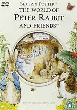 Beatrix Potter The World of Peter Rabbit and Friends DVD Niamh Cusack New Sealed