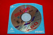 "Rare Vtg Game Cd -""Monopoly"" Aol (Cd, Infogrames, sealed)"