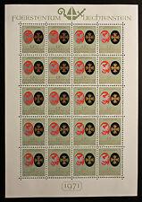 Sello LIECHTENSTEIN Stamp Yvert y Tellier nº493 x20 De Hecho De La Hoja N Y5