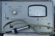 Soviet Universal Voltmeter V3-36 10 kHz - 1000 Mhz 3 mV - 3V Ussr New Nos