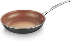 """Cooksmark 10"""" Nonstick Copper Frying Pan with Ceramic Coating, Induction (A022)"""
