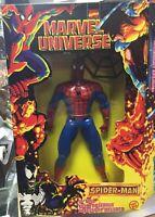"""1997 Marvel Universe Spider-Man 10"""" Action Figure Toybiz"""