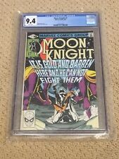 Moon Knight 7 CGC 9.4 White Pages (Classic Cover!!) CGC #007