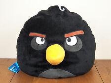 "Angry Birds Black Bomb 12"" Plush Stuffed Animal Doll Beanbag Bed Pillow **NEW**"