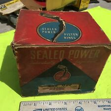 Buick,  piston rings;  Sealed Power 3 3/32 inch, +020. Item:  7445