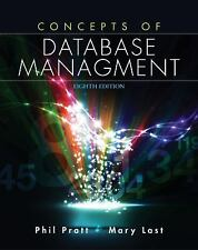 Concepts of Database Management by Mary Z. Last, Philip J. Pratt