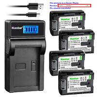 Kastar Battery LCD Charger for BN-VG107U BN-VG108U BN-VG114U BN-VG121U BNVG138U