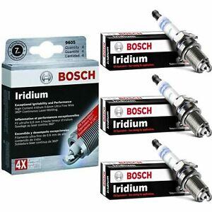 3 New Bosch Iridium Spark Plugs For 2014-2015 MITSUBISHI MIRAGE L3-1.2L