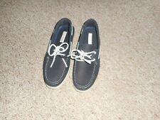 Joseph Abboud Men's 2 Eye Leather Boat Shoes Size 10