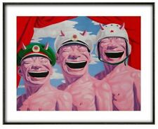 Yue Minjun, 'Armed Forces', Fine art print, Various sizes