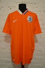 NETHERLANDS HOME FOOTBALL SHIRT 2008/2009/2010 SOCCER JERSEY HOLLAND MENS XXL