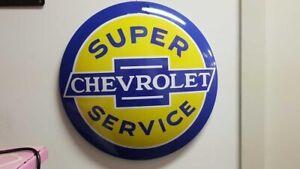 Chevrolet Tin Button 400mm