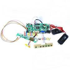 HDMI+DVI+VGA LCD Controller Board for CLAA156WA01A CLAA156WA01 +Speaker @USA