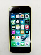 New listing Apple iPhone 5c A1532 Yellow 16Gb (Gsm Unlocked) - Yellowing Lcd - Good Esn