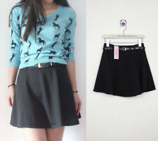 125 Korean Women's Fashion Mini Skirt Black