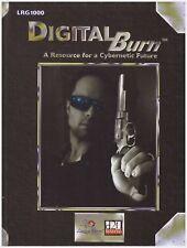Digital Burn LRG 1000 D20 Cyberpunk RPG Sourcebook Hard Cover