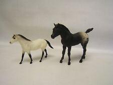 Breyer Lot of 2 Quarter Horse Stallion #9060 Little Bits & Arab Family Foal wp