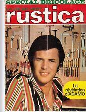 "MAGAZINE ""RUSTICA 1970 / SALVATORE ADAMO"""