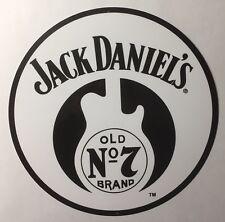 "Jack Daniels Old No 7 Guitar 14"" Metal Sign"