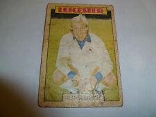 A & A.C. Chicle Fútbol Tarjeta 1973/74 Blue Back Alan birchenall Leicester #24