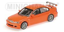 Bmw 320 I Orange 2005 1:43 Model MINICHAMPS